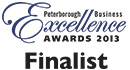 Peterborough Business Excellence AWARDS 2013 Finalist
